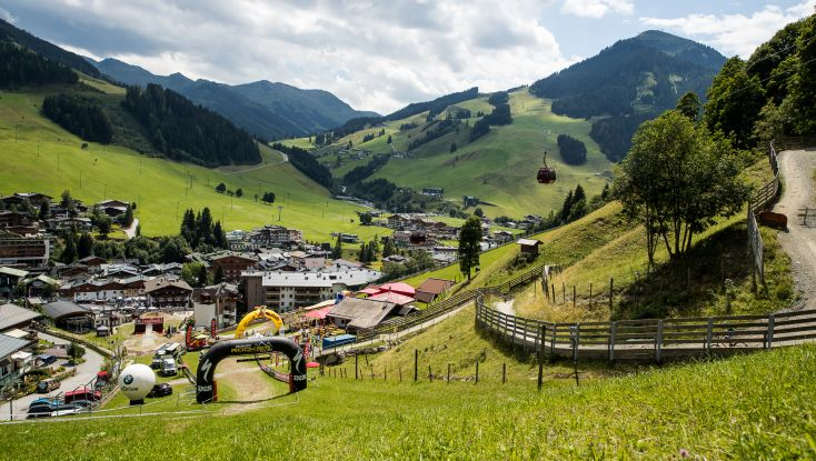 Finish Area - RDC Saalbach 2018.JPG