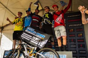 Awards Ceremony Pro Men Overall - EES Treuchtlingen 2014
