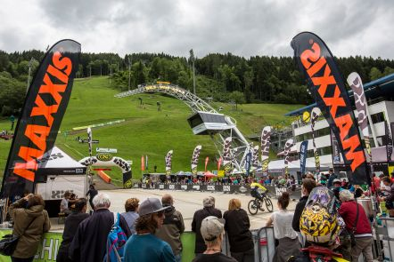 Finish Area - EDC Schladming 2016