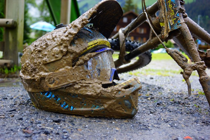 Muddy Helmet - SDC Morgins 2016