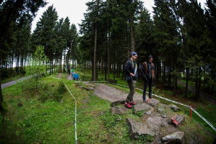 iXS European Downhill Cup #2 Willingen - Track Walk